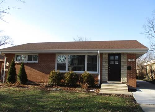 832 Seeley, Park Ridge, IL 60068