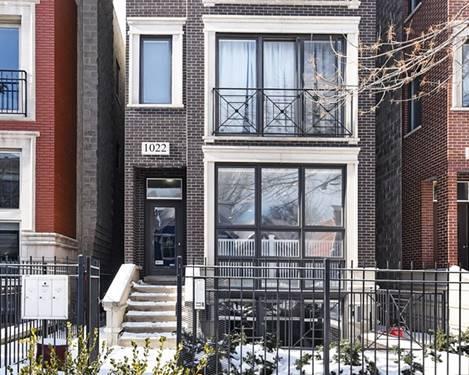 1022 N Paulina Unit 1, Chicago, IL 60622