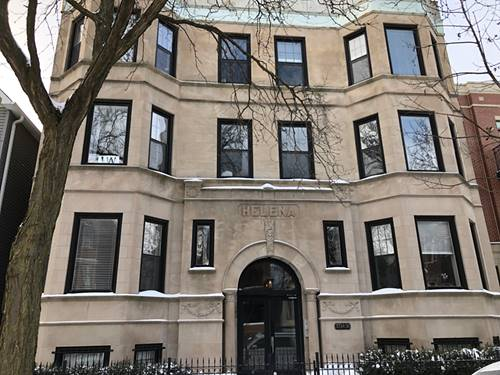 3734 N Clifton Unit G, Chicago, IL 60613 Lakeview