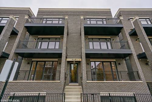 819 N Paulina Unit 3N, Chicago, IL 60622 Noble Square