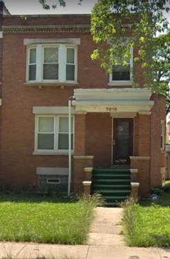 7010 S Calumet, Chicago, IL 60637 Park Manor