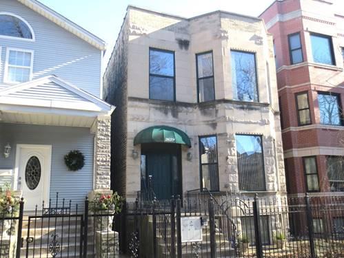 2629 N Washtenaw Unit 2, Chicago, IL 60647 Logan Square