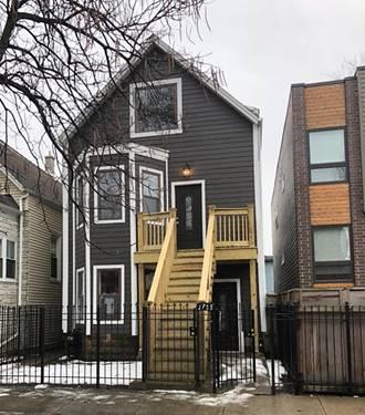 3755 W Dickens, Chicago, IL 60622 Logan Square