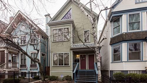 3422 N Leavitt, Chicago, IL 60618 Roscoe Village