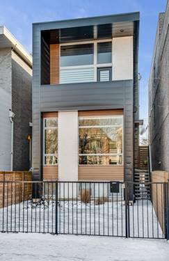1719 N Campbell, Chicago, IL 60647 Logan Square