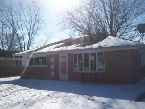 341 Blackhawk, Park Forest, IL 60466