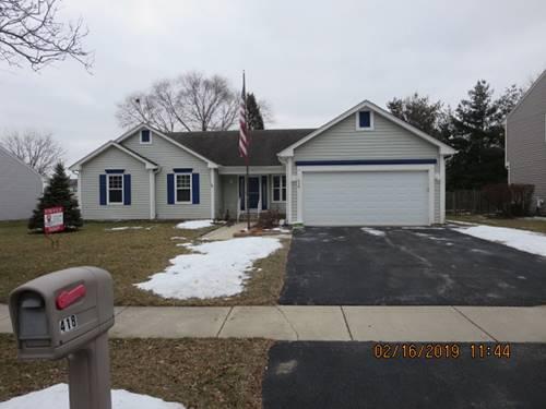 418 Preswick, Oswego, IL 60543