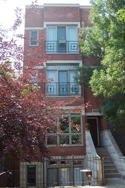 1534 N Bosworth Unit 3, Chicago, IL 60642 Wicker Park