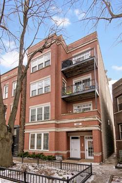 1337 W Wrightwood Unit 3, Chicago, IL 60614 West Lincoln Park