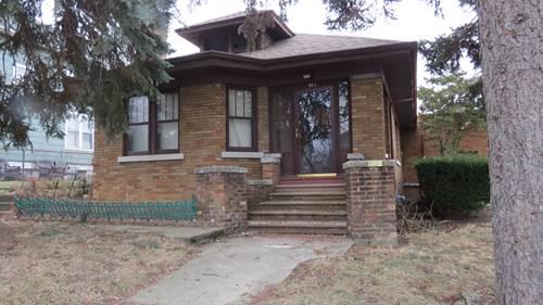 923 Elizabeth, Joliet, IL 60435