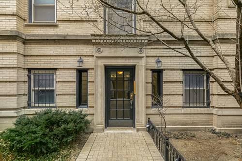 2730 N Pine Grove Unit 2, Chicago, IL 60614 Lincoln Park