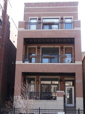 2521 N Southport Unit 3, Chicago, IL 60614 Lincoln Park