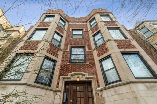 659 W Cornelia Unit 3, Chicago, IL 60657 Lakeview