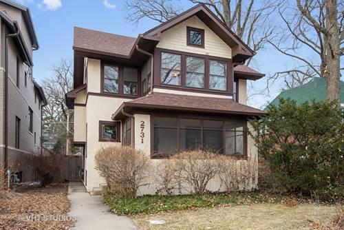 2731 Hartzell, Evanston, IL 60201