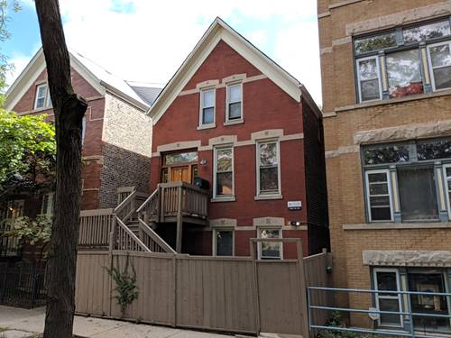 1653 N Claremont, Chicago, IL 60647 Bucktown