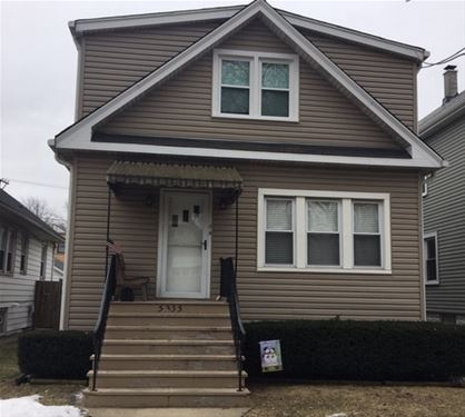 5335 W Winnemac, Chicago, IL 60630
