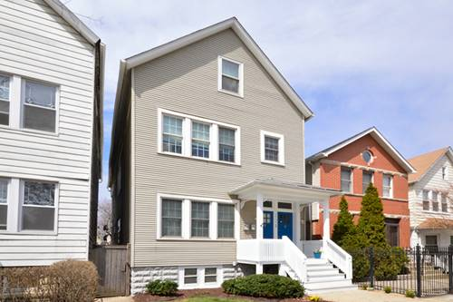 2428 N Campbell, Chicago, IL 60647 Logan Square