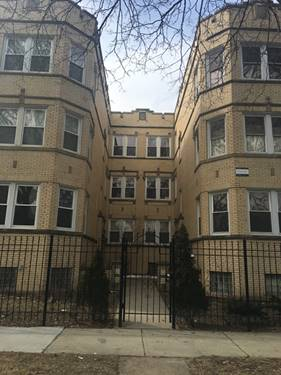 6314 N Fairfield Unit 1B, Chicago, IL 60659