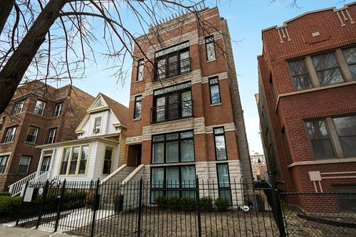 3422 N Bosworth Unit 3, Chicago, IL 60657 Lakeview