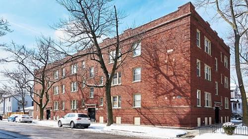 3422 N Wolcott Unit 3, Chicago, IL 60657 Roscoe Village