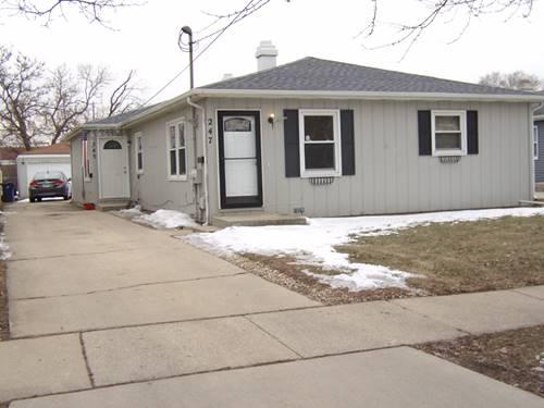 245-247 Adams, Elgin, IL 60123
