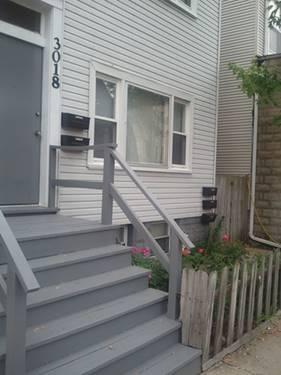 3018 N Clybourn Unit GRD, Chicago, IL 60618 Hamlin Park