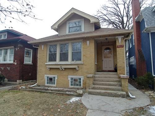 5417 N Bernard, Chicago, IL 60625