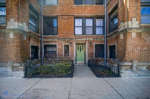 6832 N Lakewood Unit G, Chicago, IL 60626 Rogers Park
