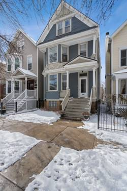 3934 N Hermitage, Chicago, IL 60613 West Lakeview