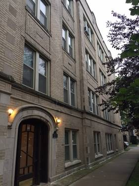3259 W Olive Unit 2W, Chicago, IL 60659 Hollywood Park