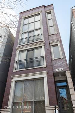 930 N Honore Unit 1, Chicago, IL 60622 Noble Square