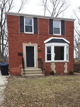 2176 W 118th, Chicago, IL 60643 Morgan Park