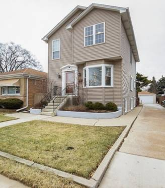 3229 N Osceola, Chicago, IL 60634 Belmont Heights