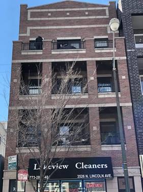 3526 N Lincoln Unit 3, Chicago, IL 60657 Roscoe Village