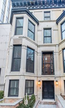 1234 N State, Chicago, IL 60610 Gold Coast