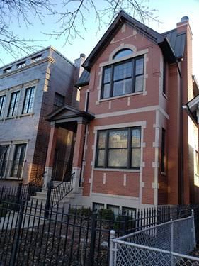 1623 N Bell, Chicago, IL 60647 Bucktown