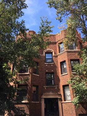 640 W Roscoe Unit GRD, Chicago, IL 60657 Lakeview