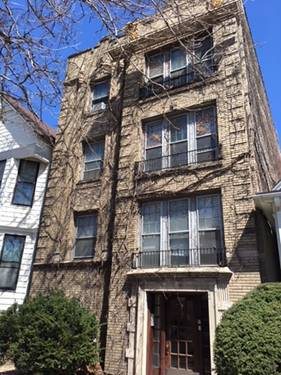 3643 N Hermitage Unit 2, Chicago, IL 60613 West Lakeview