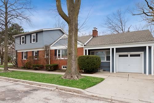 2401 Ridgeway, Evanston, IL 60201