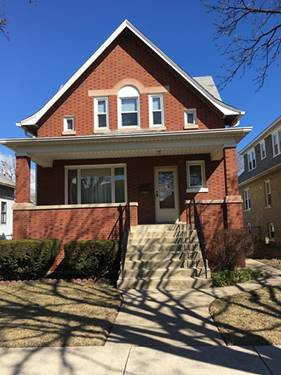 5620 W Eastwood, Chicago, IL 60630