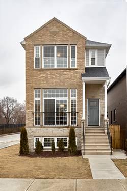 2458 W Berenice, Chicago, IL 60618 North Center