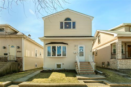 3762 N Osceola, Chicago, IL 60634 Belmont Heights