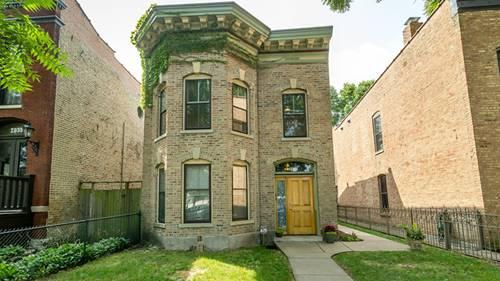 2039 W Evergreen, Chicago, IL 60622 Wicker Park