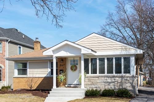 847 S Fairfield, Elmhurst, IL 60126