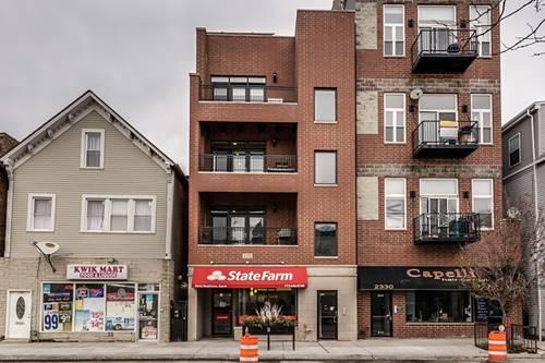 2332 W Belmont Unit 3, Chicago, IL 60618 Hamlin Park