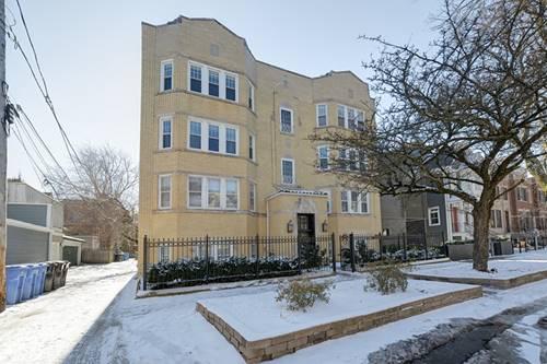 1115 W Lill Unit 3, Chicago, IL 60614 Lincoln Park