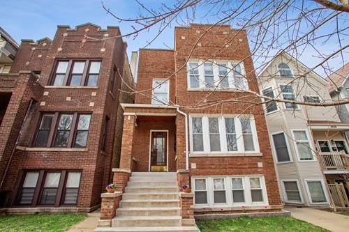3634 N Hermitage, Chicago, IL 60613 West Lakeview