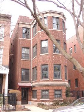 3432 N Bosworth Unit 1, Chicago, IL 60657 West Lakeview