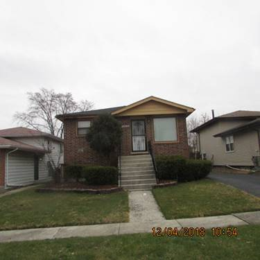 18019 Birch, Country Club Hills, IL 60478