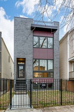 1636 N Whipple, Chicago, IL 60647 Logan Square